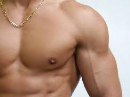 Gynecomastia (with liposuction)
